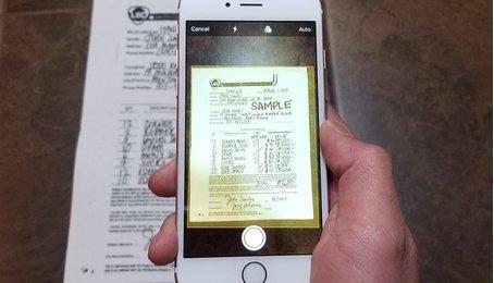 Thủ thuật biến smartphone thành máy scan tài liệu nhanh chóng hiệu quả