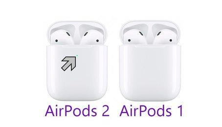 Cách phân biệt AirPods 1 và AirPods 2 nhanh chóng đơn giản