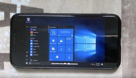 Bạn đã có thể cài Windows 10 lên iPhone