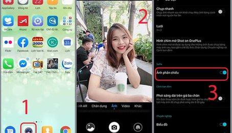 Hướng dẫn cách lật ảnh trên điện thoại Android nhanh nhất, đơn giản nhất