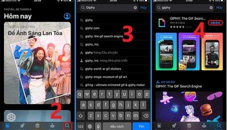 Cách tải ảnh GIF về iPhone, iPad nhanh và hiệu quả nhất
