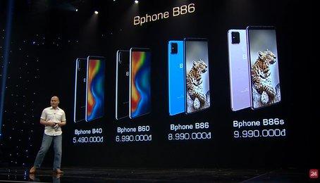 Ấn tượng Bphone mới, phiên bản cao nhất B86s có giá 9.990.000đ
