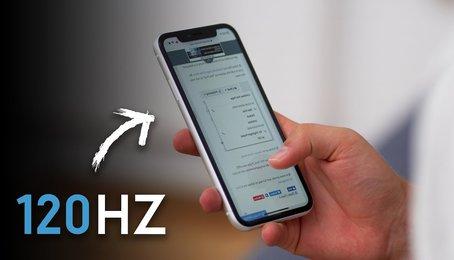 Màn hình Promotion là gì? Màn hình tần số 120Hz sẽ có mặt trên iPhone 2020