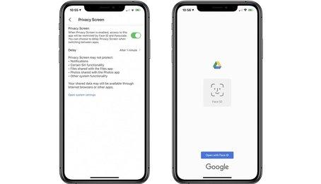 Thủ thuật khóa Google Drive trên iPhone bằng FaceID hoặc TouchID