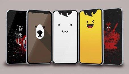Cách tạo hình nền tai thỏ, tay gấu lạ mắt trên iPhone iPad