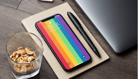 Link tải bộ sưu tập hình nền chủ đề mầu sắc dành cho iPhone mới nhất tuyệt đẹp 2020
