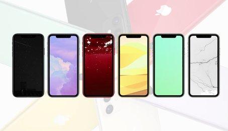 Link tải bộ sưu tập hình nền chủ đề sắc màu cho iPhone đẹp nhất, mới nhất 2020