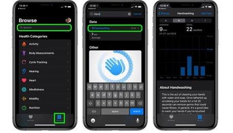 Tinh năng mới trên Apple Watch, tính năng phát hiện rửa tay trên Apple Watch
