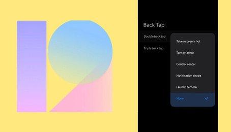 Tin mới nhất, MIUI 12 sẽ cho phép bạn mở các ứng dụng bằng cách chạm vào mặt lưng giống như iOS 14