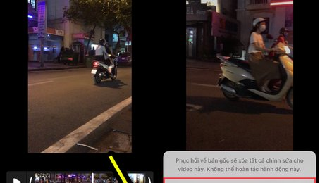 Mẹo xóa âm thanh của Video trên iPhone và iPad (iOS) nhanh nhất, đơn giản nhất