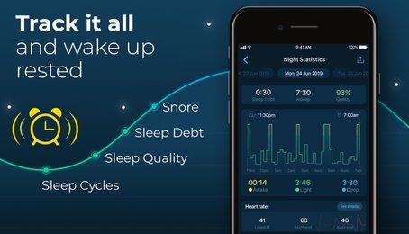 Những ứng dụng theo dõi giấc ngủ của bạn. Giúp cải thiện chất lượng giấc ngủ