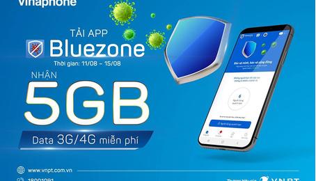 Cách nhận 10GB Data và miễn cước cho thuê bao di động tải và sử dụng Bluezone