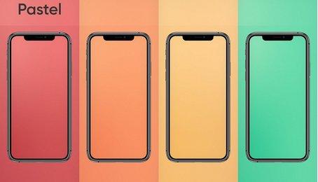 Link tải về bộ hình nền Pastel dành cho iPhone và iPad cực đẹp trên iOS