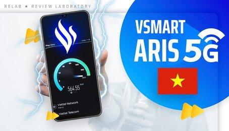 Trên tay Vsmart Aris 5G, tuyệt phẩm Camera ẩn trong màn hình điện thoại!