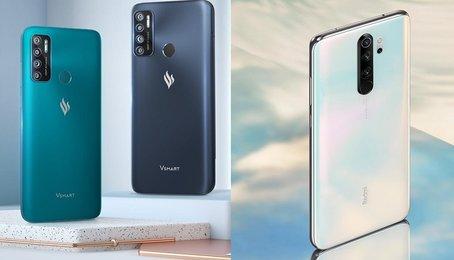 So sánh Vsmart Live 4 và Xiaomi Redmi Note 8 Pro, sản phẩm nào cho trải nghiệm tốt hơn?