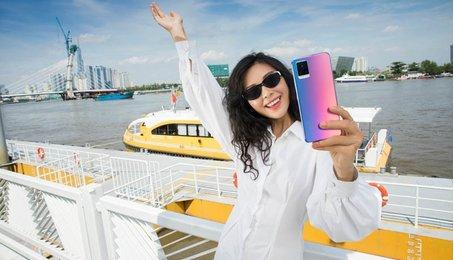 Điện thoại vivo V20: Smartphone siêu mỏng 2020