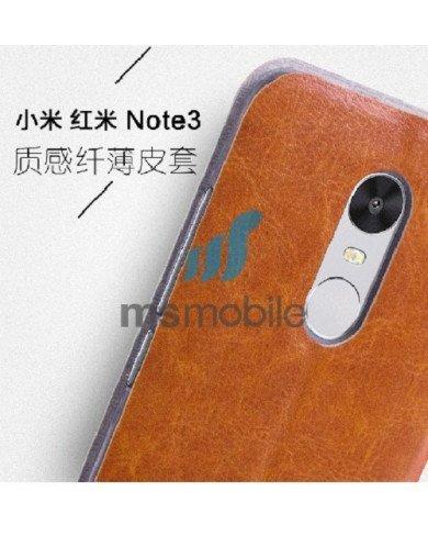 Nắp lưng da cho Xiaomi Redmi Note 3
