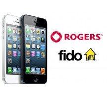 Unlock code iPhone 4, 4s, 5, 5c, 5s nhà mạng Fido Roger