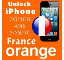 Unlock code iPhone 4, 4s, 5, 5c, 5s nhà mạng Orange
