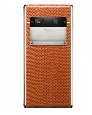 Vertu Aster Tangerine Karung Leather