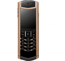 Vertu Signature S Clous de Paris Red Gold