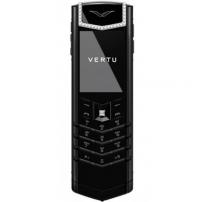 Vertu Signature Pure Black White Diamonds