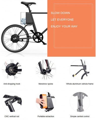 Xe đạp Xiaomi Yunbike C1