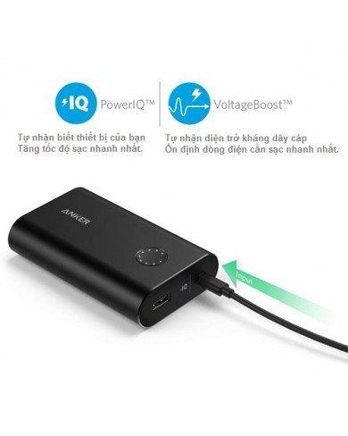 Pin sạc dự phòng ANKER Powercore Plus 10050 (kèm sạc tường 18W Quick Charge 2.0)
