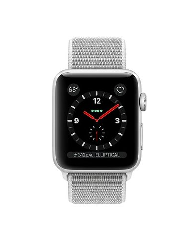 Apple Watch Series 3, 38mm Stainless Steel