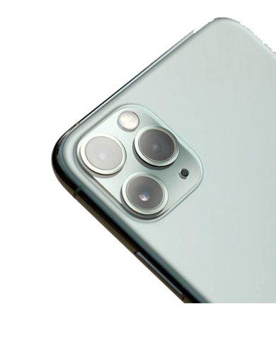 Dán cường lực vuông Camera, iPhone 11 Pro, 11 Pro Max (Dán cường lực full cụm Camera iPhone 11 Pro)