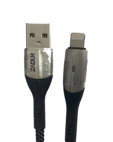 Cable Lightning tự ngắt cho iPhone Chính hãng ZaBun (có đèn báo)