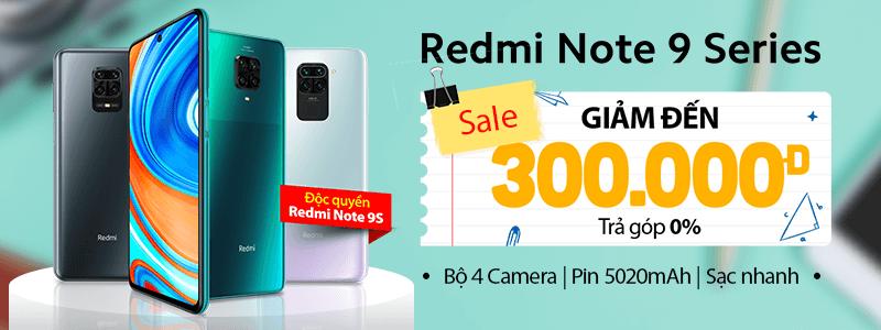 Redmi Note 9s Giảm Sâu