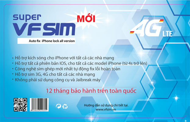 Description: Sim ghép iPhone 6 - Supper VFsim
