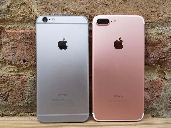 So sánh iPhone 6s Plus và iPhone 7 Plus