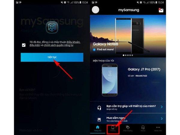 Cách kiểm tra chế độ bảo hành Samsung Galaxy J7 Pro