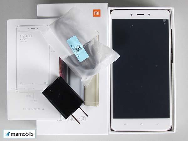 Mở hộp Xiaomi Redmi Note 4x tại MSmobile