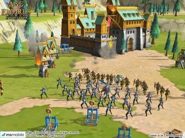 Game Age of Empires: World Domination cho Android
