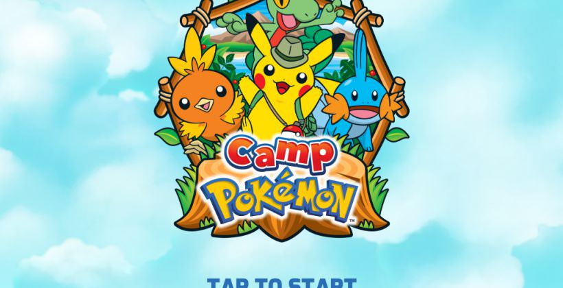 game vui nhộn camp pokemon