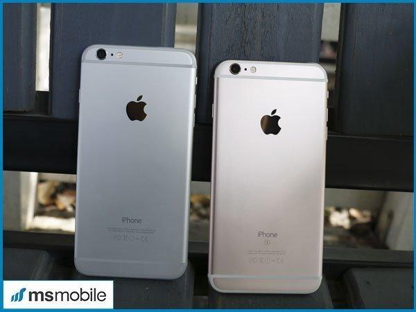 So sánh về camera chính của iPhone 6S Plus và iPhone 6 Plus