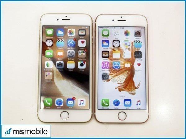 So sánh camera phụ iPhone 6 và iPhone 6S
