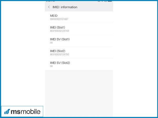 Cách kiểm tra imei trên Xiaomi Redmi 5, 5 Plus - Tư vấn mua điện thoai