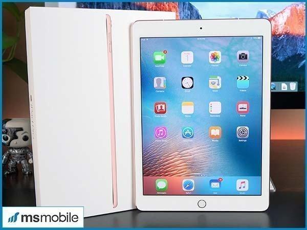 Chất lượng hiển thị miễn chê trên nền màn hình Retina trênApple iPad Pro 9.7