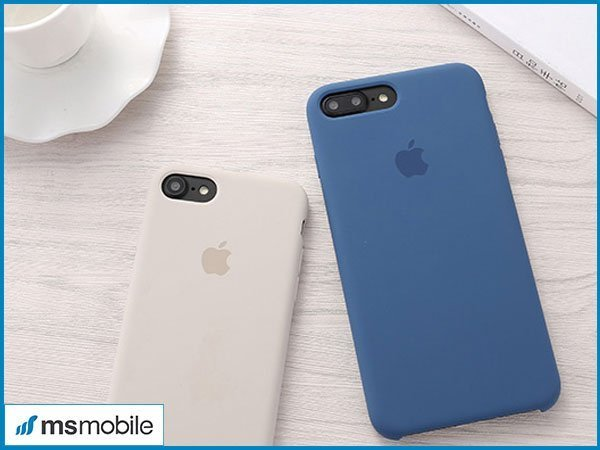 Ốp lưng Silicon cho iPhone 7 Plus, 8 Plus