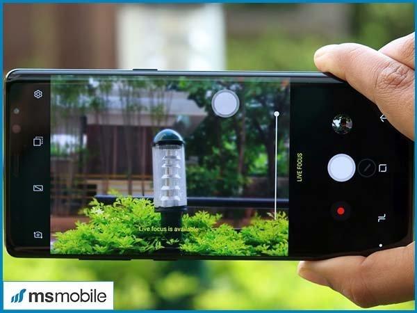 Camera kép xóa phông của Samsung Galaxy Note 8