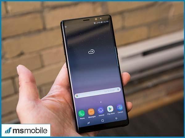 Đánh giá màn hình trên Samsung GalaxyNote 8