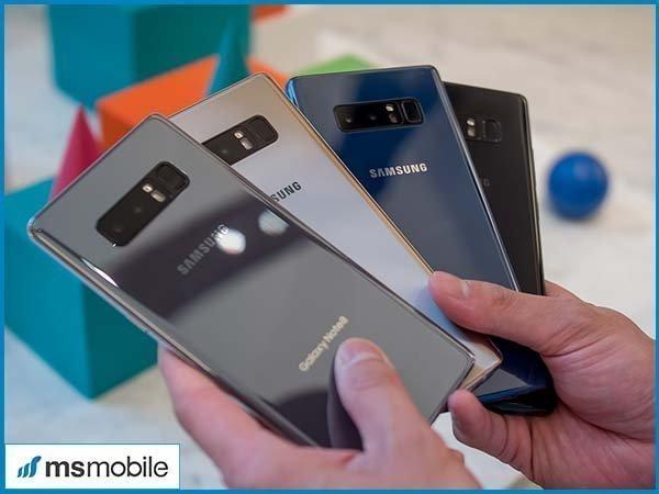 Đánh giá thiết kế của Samsung Galaxy Note 8