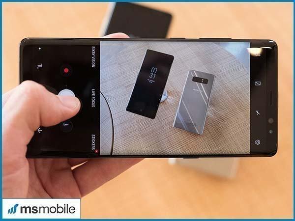 Đánh giá Camera của Samsung Galaxy Note 8