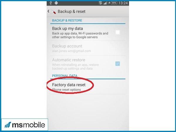 Vào recovery Sony Xperia XA - Tư vấn mua điện thoai