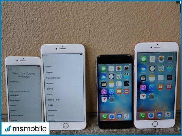 iPhone 6 Plus, 6S Plus vs iPhone 6, 6S: Màn hình