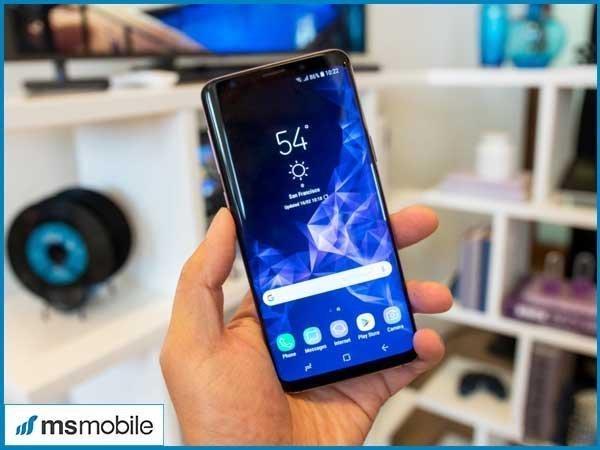 Lỗi bóng mờ trên Samsung Galaxy S9, S9 Plus - Tư vấn mua điện thoai